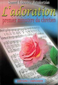 """Page couverture du livre """"L'adoration"""" de Samuel et Dorothée Hatzakortzian"""