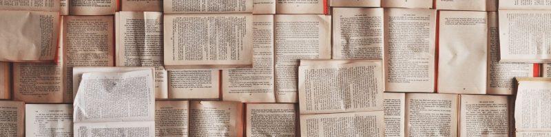 Un mur de livres