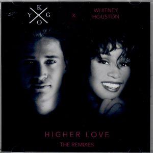 Pochette de l'album de la chanson Higher Love reprise par Whitney Huston