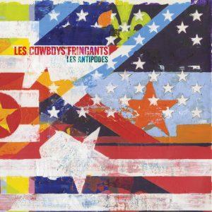 Pochette de l'album Les Cowboys Fringants les antipodes